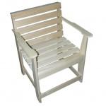Кресло с подлокотниками разборное620х870х495