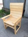 Кресло банное липа