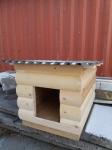 Будка для собаки из  блок-хауса